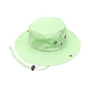 Safari Bucket Hat (Lime Green)